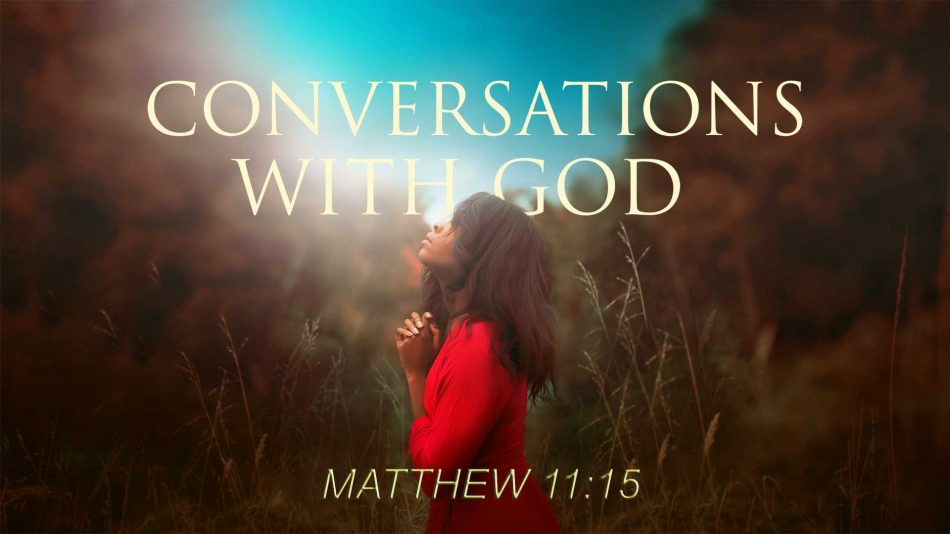 Talking with God